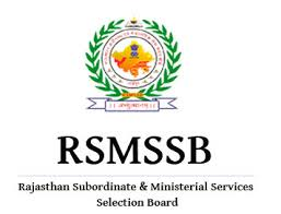 RSMSSB Clerk Stenographer Previous Papers
