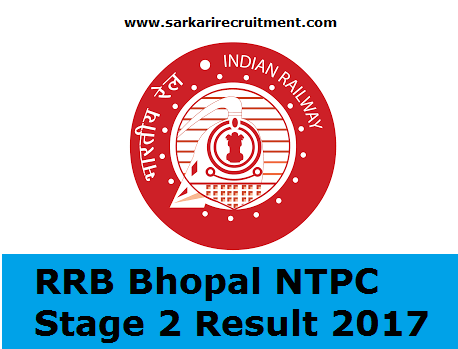 RRB Bhopal Results