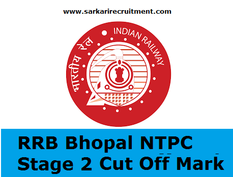 RRB Bhopal Cut Off Marks
