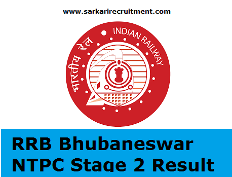 RRB Bhubaneswar Results