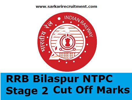 RRB Bilaspur Cut Off Marks