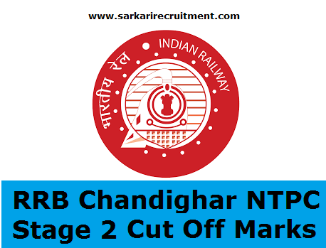 RRB Chandigarh Cut Off Marks