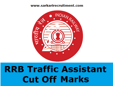 RRB Traffic Assistant Cut Off