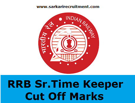 RRB Senior Time Keeper Cut Off