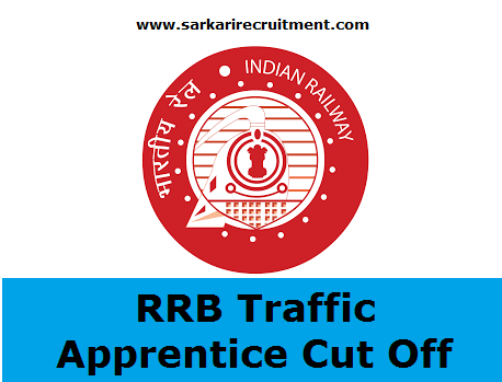 RRB Traffic Apprentice Cut Off