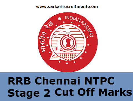 RRB Chennai Cut Off Marks