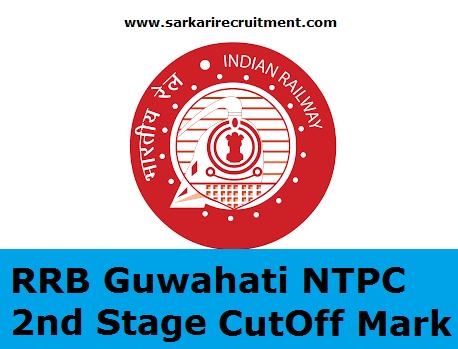 RRB Guwahati Cut Off Marks