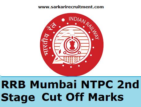 RRB Mumbai Cut Off Marks