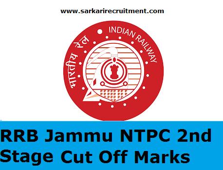 RRB Jammu Cut Off Marks