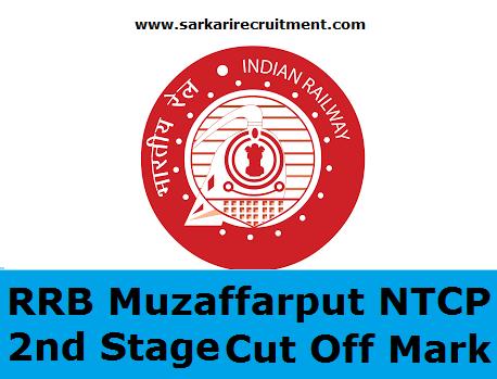 RRB Muzaffarpur Cut Off Marks