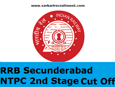 RRB Secunderabad Cut Off Marks