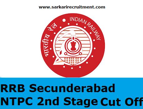RRB Secunderabad Cut Off Marks