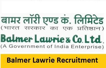 Balmer Lawrie Recruitment