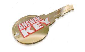 Answer Keys