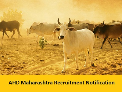 AHD Maharashtra Recruitment Notification 2017