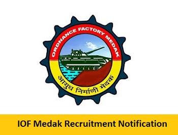 IOF Medak Recruitment