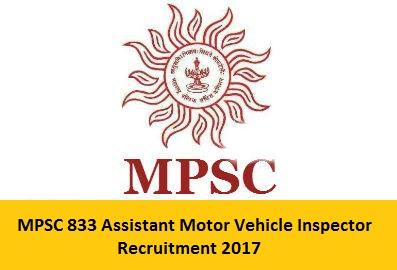 MPSC Assistant Motor Vehicle Inspector Recruitment