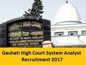 Gauhati High Court System Analyst Recruitment Notification