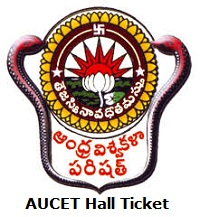 AUCET Hall Ticket