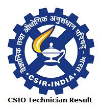 CSIO Technician Result