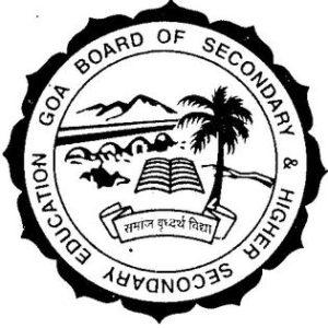 Goa Board HSSC Hall Ticket