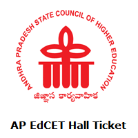 AP EdCET Hall Ticket
