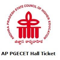 AP PGECET Hall Ticket