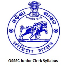 OSSSC Junior Clerk Syllabus