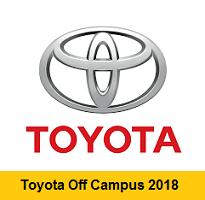 Toyota Off Campus 2018