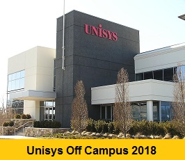 Unisys Off Campus 2018