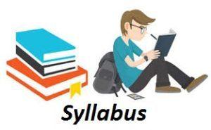 Jamnagar Municipal Corporation Pharmacist Syllabus