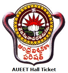 AUEET Hall Ticket