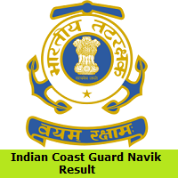 Indian Coast Guard Navik Result