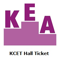 KCET Hall Ticket