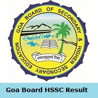Goa Board HSSC Result