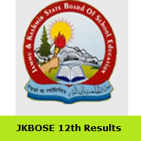 JKBOSE 12th Results