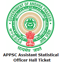 APPSC Assistant Statistical Officer Hall Ticket