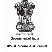 BPSSC Steno ASI Result