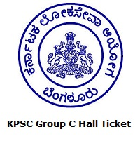 KPSC Group C Hall Ticket