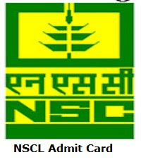 NSCL Admit Card
