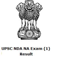UPSC NDA NA Exam (1) Result