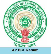 AP DSC Result