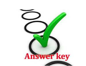 Image result for Answer Key