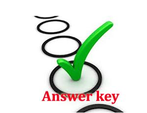 KSRTC Security Guard Answer Key