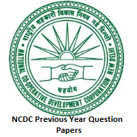 NCDC Previous Year Question Papers