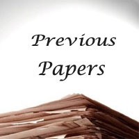 JRHMS CHO Previous Year Question Papers