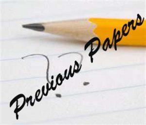 VMMC SJH Senior Resident Previous Papers