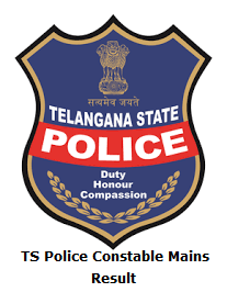 TS Police Constable Mains Result
