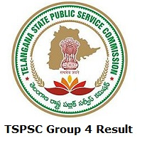 TSPSC Group 4 Result