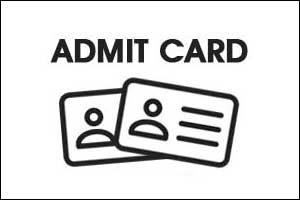 WB Health DEIC Manager Admit Card